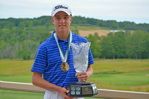 Tangle Creek golfer wins on home course
