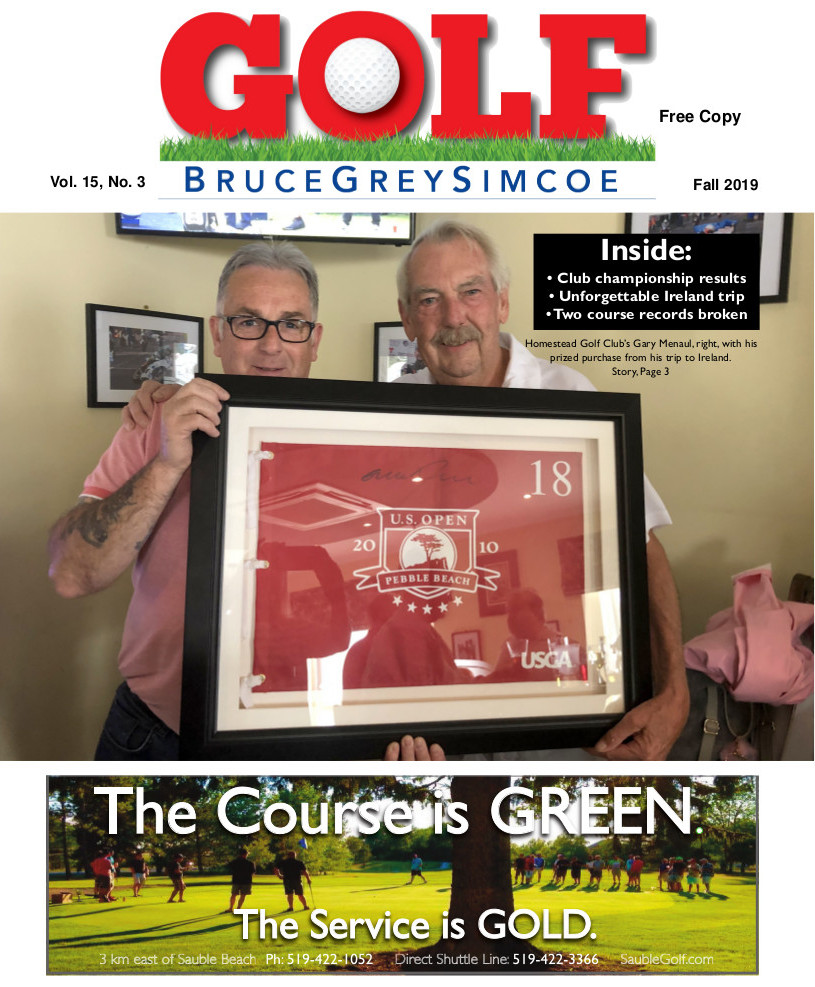 Fall Edition - Golf BruceGreySimcoe