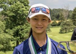 National Pines golfer ties for 54th